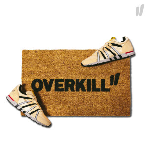 Need More Overkill Doormat ( brown / black )