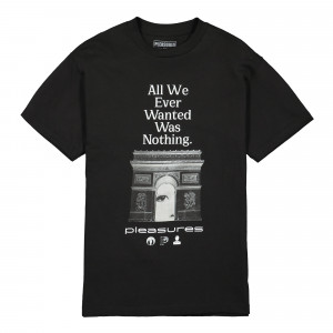 Pleasures Nothing T-Shirt ( P19F101050 / Black )