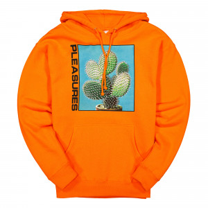 Pleasures Spike Hoody ( P19F102061 / Safety Orange )