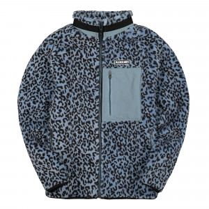 Pleasures Wild Sherpa Jacket ( P19F103005 / Blue )