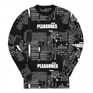 Pleasures Poems Long Sleeve ( P19F103023 / Black )