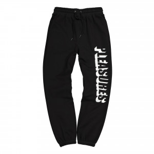 Pleasures Harvard Embroidered Sweatpant ( P19F104031 / Black )