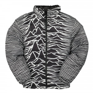 Joy Division x Pleasures Disorder Reversible Puffer Jacket ( P19J006 / Black )