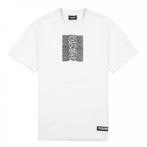 Joy Division x Pleasures Shadow Play Embroidered Premium T-Shirt ( P19JD008 / White )
