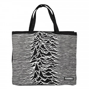 Joy Division x Pleasures Wilderness Heavyweight Tote Bag ( P19JD0009 / Black )