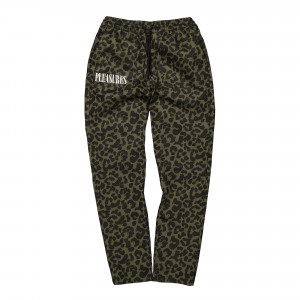 Pleasures Now Leopard Beach Pant ( PS19S104010 / Green )