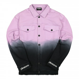 Pleasures Dawn Trucker Jacket ( P19W103012 / Purple )