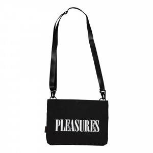 Taikan x Pleasures Sacoche Bag ( P20F033 / Black )