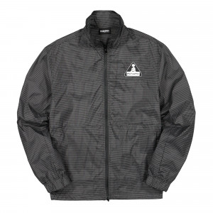 Pleasures Brick Tech Track Jacket ( P20SPCUT0022 / Black )