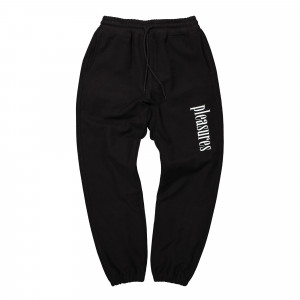 Pleasures Logic Reverse Terry Sweatpants ( P20SU015 / Black )