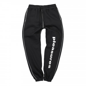 Pleasures Collapse Sweatpants ( P21SP011-Black )