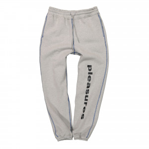 Pleasures Collapse Sweatpants ( P21SP011-Heather Grey )