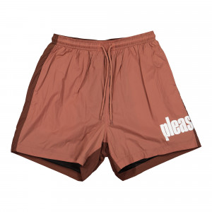 Pleasures Electric Active Shorts ( P21SP015-Maroon )