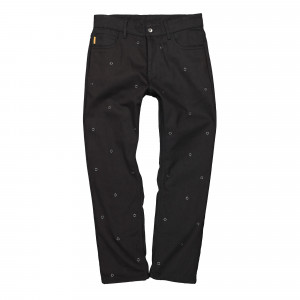 Pleasures Village Rivet Denim Pant ( P21SP018-Black )