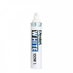Pentel X100WL Permanent White Marker 3-6 mm