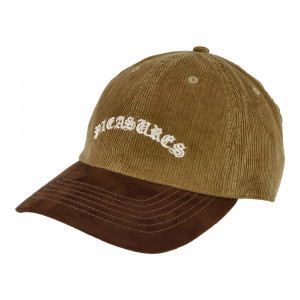 Pleasures Old E Corduroy Polo Cap ( P20W055 / Brown )