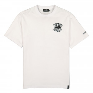 Pacemaker Concrete Credibility Blow Up Tee ( PM028 / White )