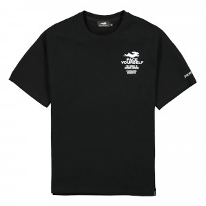 Pacemaker Pace Yourself Tee ( PM038 / Black )