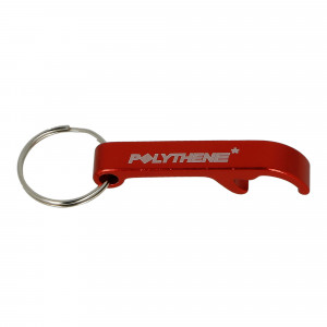 Polythene Optics Bottle Opener Key Ring ( PO-BO-01-RED-SC46 )
