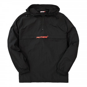 Polythene Optics Nylon Windbreaker ( PO-HZJ-01-BLK-SC52 )