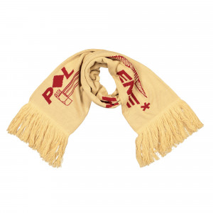 Polythene Optics Jaquard Scarf ( PO-SC-03-RED-SND )