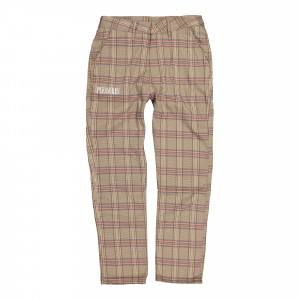 Pleasures Orchestra Plaid Pant ( P19W104020 / Pink )