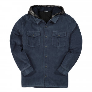 U.P.W.W. Padded Work Shirt ( PWJ01A / Navy )