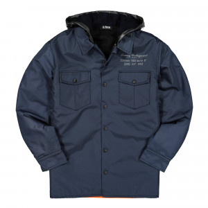 U.P.W.W. Padded Work Shirt ( PWJ01B / Navy )