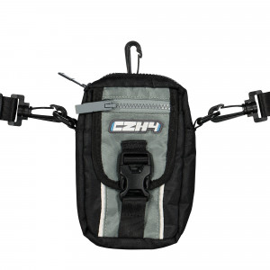 C2H4 Color Blocked Logo Pouch ( R000-086 / Gray )
