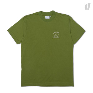 Overkill Logo Embroidery Tee ( Green )