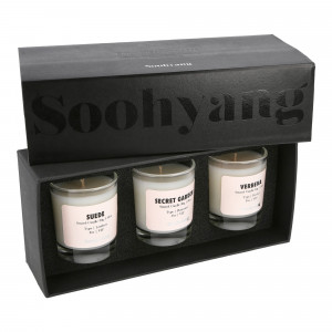 Soohyang Trial 3 Pack Candle Set 30g ( SBV / Multi )