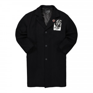 Raf Simons x Fred Perry Coat ( SJ9026 / Black )