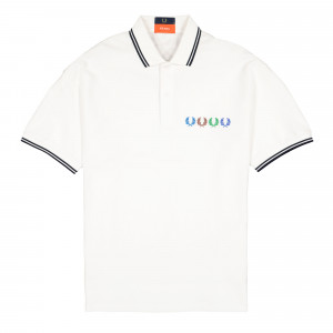 Beams x Fred Perry Twin Tipped Polo Shirt ( SM8020-100 )