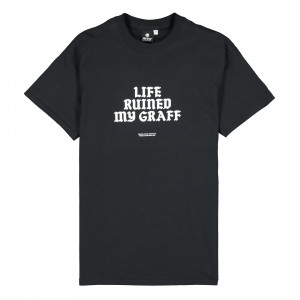 MTN Life Ruined My Graff T-Shirt ( SPRP0101 / Black )