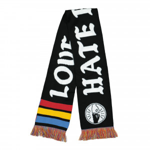 MTN Scarf Love Graffiti Hate Racism ( SPRP0102 )