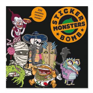 Sticker Bomb Book - Monsters