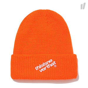 thisisneverthat DIA-HSP Logo Beanie ( TN18FHW001 / Orange )