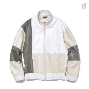 thisisneverthat Multi Leather Jacket ( TN18FOW018 / White