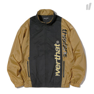 thisisneverthat HSP Sport Jacket ( TN18SOW007KLL / Black - Gold )