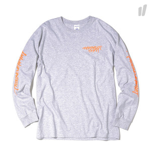 thisisneverthat CA-Logo Longsleeve Top ( TN18STS002IRL / Light Grey )