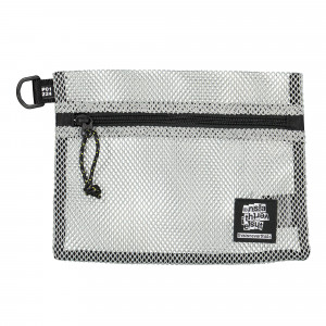 thisisneverthat Mesh Flat Pouch ( TN19SBA004 / Light Grey )