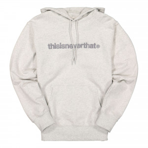thisisneverthat T-Logo Hooded Sweatshirt ( TNCOCHS002 / Light Grey )