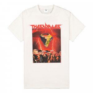 The Salvages Space Rock 3 Tee ( TSSPT / White )