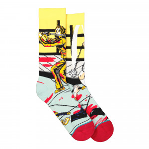 Stance Foundation The Bride And Gogo Socks ( U545C19TBG-PUR )