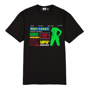 Used Future Body T-Shirt ( UDF-TS-201-BK / Black )