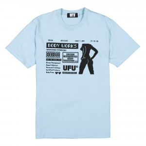 Used Future Body T-Shirt ( UDF-TS-201-SB / Sky Blue )