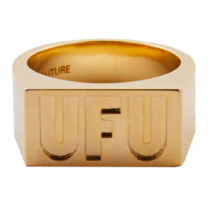 Used Future UFU Square Ring ( UDS-AC-101-GD / Gold )
