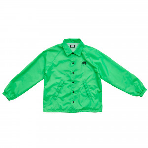 Used Future Oval Coach Jacket ( UDS-OT-101-GN / Acid Green )
