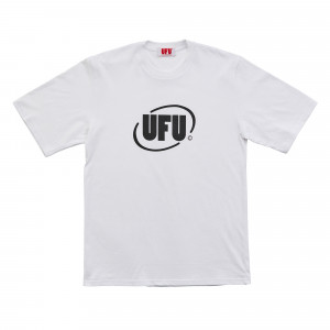 Used Future Round Logo T-Shirt ( UDS-TS-201-WT / White )
