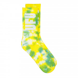 Used Future Tie Dye Socks ( UES-SC-201-GN / Green )